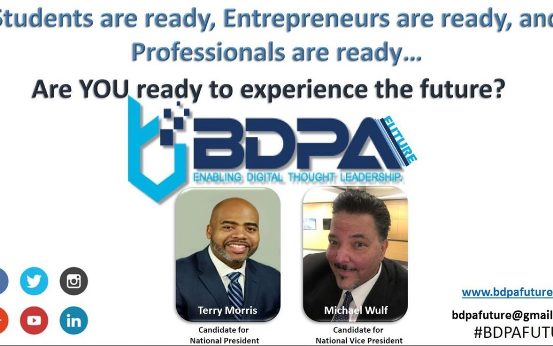 Terry Morris for National BDPA President