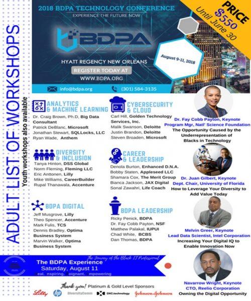 BDPA 2018 Technology Conference